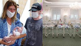 Kvůli pandemii koronaviru jsou některá miminka v kyjevském hotelu i víc než měsíc, čekají na nové rodiče ze zahraničí (24. 6. 2020)
