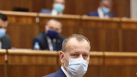 Předseda slovenské Sněmovny Boris Kollár