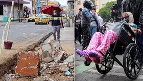 Zemětřesení v Mexiku si vyžádalo 10 obětí, bylo poškozeno 5000 domů.