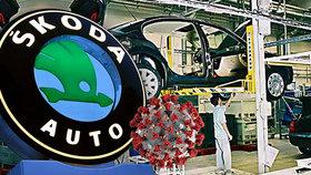 Škoda Auto od 24. června dovolí svým zaměstnancům odložit roušky