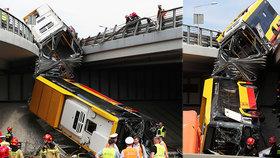 Nehoda autobusu ve Varšavě