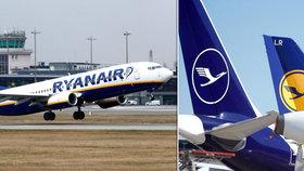 Valná hromada Lufthansy schválila vládní záchranný balík, Ryanair nesouhlasí