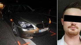 Matouše srazil na koloběžce řidič BMW. V nemocnici pak zemřel.