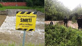 Hasiči a policie hledají muže, který skočil do řeky v Ústí n. O.