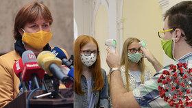 Rážová zmínila víkendovou schůzku s epidemiology: Možná nesundáme roušky