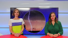 Meteoroložka Dagmar Honsová v Epicentru 29. 6. 2020