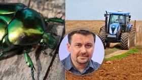 Entomolog Petr Šípek sepsul intenzivní zemědělství, podle něj může za vymírání hmyzu a zvířat v Česku.