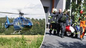 Na Kladensku spadl výtah se třemi lidmi. Všichni utrpěli zranění.