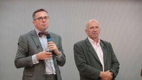 Prezident České stomatologické komory Roman Šmucler při debatě o životě po koronaviru (29. 6. 2020)