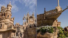 Hrad postavený z kamenných lodí