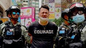 23. výročí předání Hongkongu Číně a vlna protestů (1. 7. 2020)