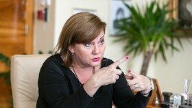 Ministryně financí Alena Schillerová.