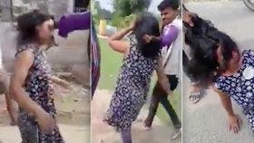 Odporná ukázka patriarchátu: Žena nesouhlasila, aby si její manžel vzal jinou, vláčel ji za to za vlasy vesnicí!