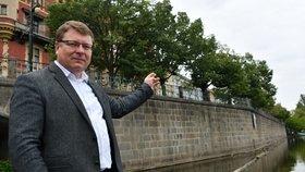 Starosta Prahy 1 si zpřístupněním čapadla slibuje velké oživení dané lokality.