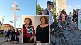 Alena Schillerová a Livia Klausová se sešly na Velehradě (4.7.2020)