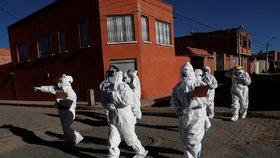Boj s koronavirem v Bolívii (4. 7. 2020)