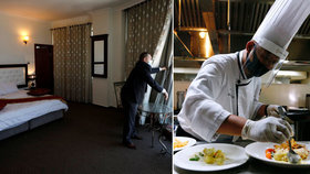 Hotely se vyrovnávají s krizí: Nezbytné jsou vyhazovy