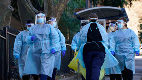 Koronavirus v Melbourne, (07.07.2020).