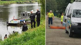 V řece u Kostelce nad Labem plavalo tělo.