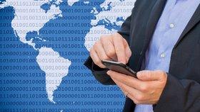 Mobilní data jsou v Česku stále jedny z nejdražších na celém světě (ilustrační foto)