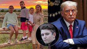 """""""Otevřete školy,"""" bouřil Trump. Vrátí se do lavic i jeho vnoučata a nejmladší syn Barron (14)?"""
