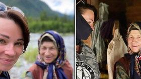 Blogerka navštívila nejosamělejší poustevnici (76): Úřady se bojí, že ji nakazila koronavirem!