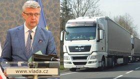 Vláda zvažuje snížení spotřební daně na naftu o dvě koruny na litr, oznámil vicepremiér Karel Havlíček (za ANO)