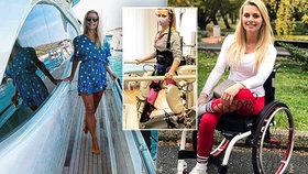 Lucie Čihalová se stala ambasadorkou soukromé neurorehabilitační kliniky, kam sama pilně dochází na cvičení na speciálním robotickém přístroji Lokomat, který simuluje přirozený pohyb nohou při chůzi.