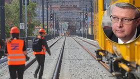 Havlíček chce dlouhodobě zabezpečit železniční tratě, provizorní řešení odmítá.