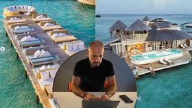 Exotické ráje lákají turisty: Maledivy na luxusní hotely, Barbados na home office v Karibiku.