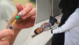 Koronavirus zpomalil či zastavil očkovací programy v rozvojových zemích (ilustrační foto)