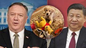Fotka Pompeovy fenky vzbudila otázky o záměrech USA s Čínou.