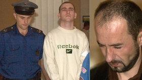 Ukrajinec Valerij Avramenko (vpravo) v roce 2000 zavraždil krajanku Olenu Bezbohnou.