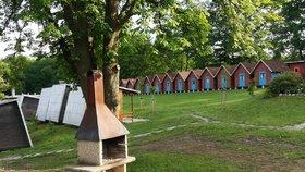 Rekreační areál U Kateřiny ve Štramberku, kde hygienici uzavřeli dětský tábor.