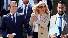 """Čím se Macronův """"exmilenec"""" zavděčil první dámě? Benalla Macronové dělal """"jisté laskavosti""""."""