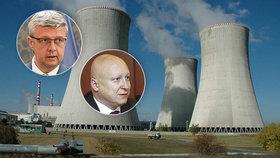 Stát zaplatí 70 procent ceny nového bloku v Dukovanech. Smlouvy budou podepsány do konce měsíce.