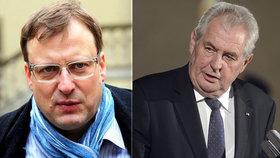 Někdejší radní Brno-střed Svatopluk Bartík (za Žít Brno, 45) se omluví prezidentu Miloši Zemanovi (76), o němž v roce 2017 na facebooku napsal, že má rakovinu.