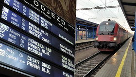 Jaká práva máte při cestách po železnici (ilustrační foto)