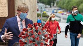 Ministr zdravotnictví Adam Vojtěch oznámil další novinky ke koronaviru.