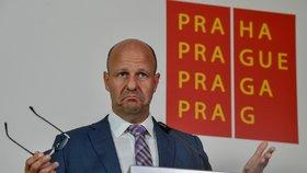 Náměstek primátora Petr Hlubuček
