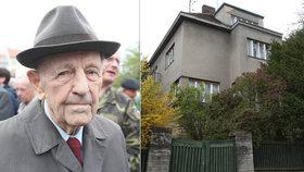 Pozdější vlastníci vily Milouše Jakeše v pražských Dejvicích na prodeji vydělali téměř 50 milionů korun.