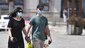 Jihlava v době pandemie koronaviru (červenec 2020)