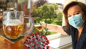 Schillerová lila pivo z okna, pivovary do kanálu.