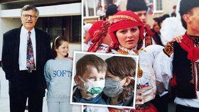 Ministryně práce a sociálních věcí Jana Maláčová plní svůj facebook starými fotografiemi.