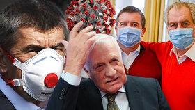 Na koronavirus už byli testováni někteří čeští politici.
