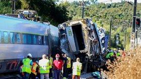 Havárie rychlovlaku v Portugalsku (31. 7. 2020)