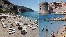 Chorvatská metropole Dubrovník řeší, že stále nepřijelo příliš mnoho turistů. Naopak sever země je téměř na normálu (30.7.2020)