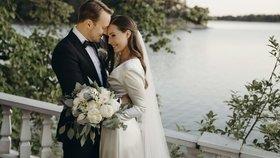 Finská premiérka Sanna Marinová se vdala. Vzala si otce své dcery (2.8.2020)
