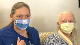 Sestry (53 a 73) se sešly po 53 letech kvůli koronaviru: Jedna z nich byla převezena do nemocnice, kde druhá pracovala jako sestra!
