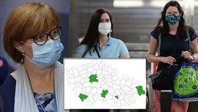 Virový semafor pro ČR se zatím jen zelení. Alarmující je až žlutá a případně pak i červená barva
